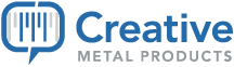 creative metal products logo